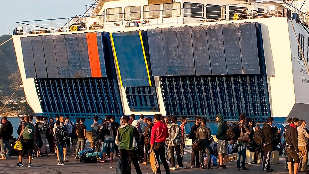 Μυτιλήνη: Κάτοικοι παρεμπόδισαν με πέτρες τον ελλιμενισμό πλοίου ΜΚΟ