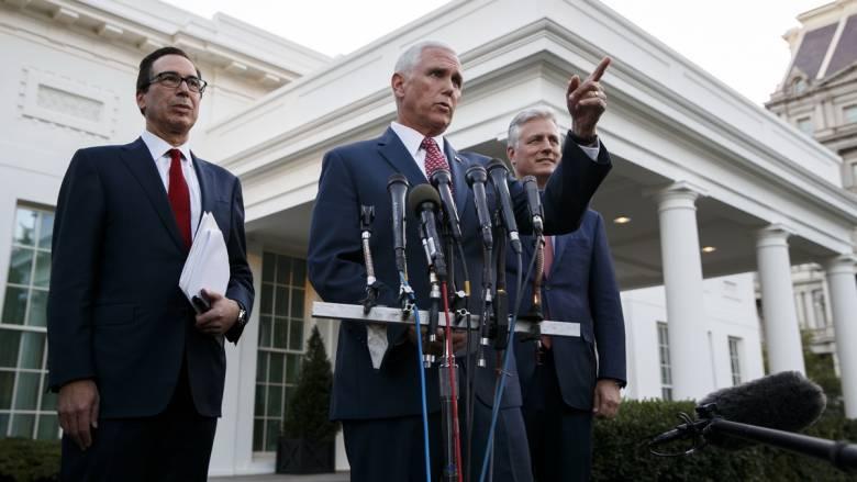 Πενς: «Ο Τραμπ απαίτησε από τον Ερντογάν να τερματίσει την εισβολή στη Συρία»