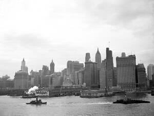 1937, Νέα Υόρκη. Άποψη του κέντρου του Μανχάταν.