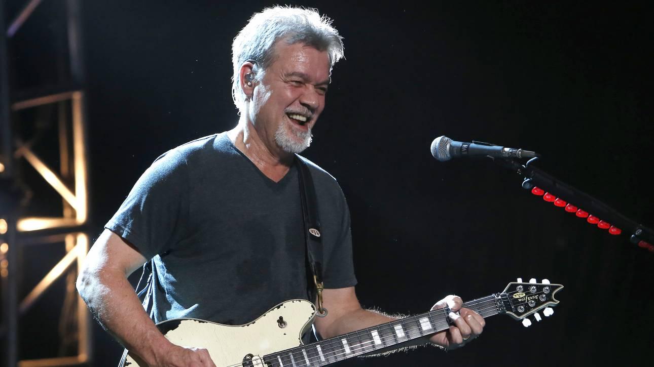 Eddie Van Halen: Πάσχει από καρκίνο του φάρυγγα και πιστεύει ότι φταίνε οι πένες της κιθάρας