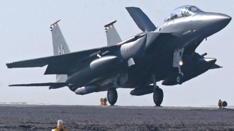 Συρία: Αμερικάνικα F-15E κατέστρεψαν πυρομαχικά και στρατιωτικό εξοπλισμό