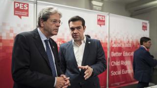 Στις Βρυξέλλες ο Τσίπρας για τη Σύνοδο των Ευρωπαίων Σοσιαλιστών