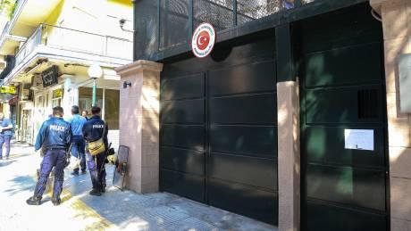 Σύλληψη 12 ατόμων μετά την «εισβολή» στο τουρκικό προξενείο της Θεσσαλονίκης