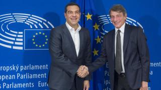 Τσίπρας από Βρυξέλλες: Να προχωρήσουν οι κυρώσεις κατά της Τουρκίας