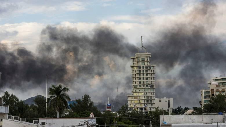 Πεδίο μάχης πόλη στο Μεξικό μετά τη σύλληψη γιου του «Ελ Τσάπο»