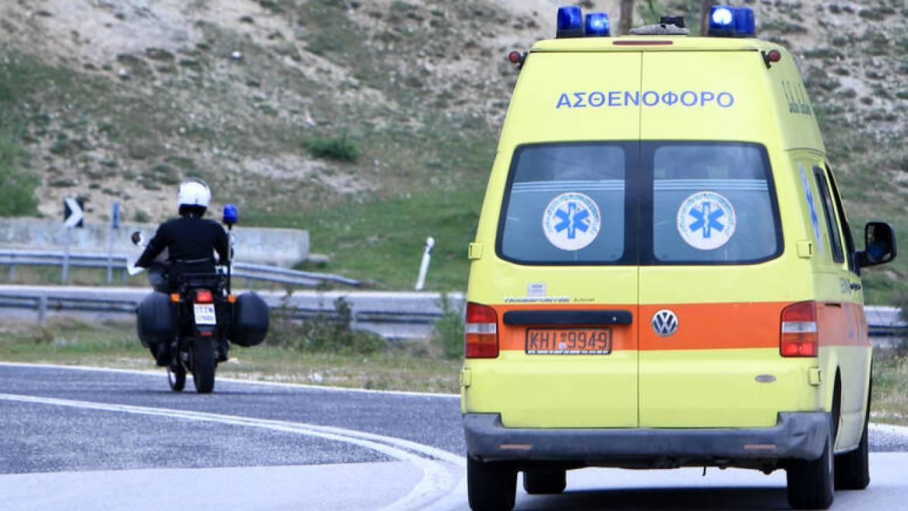 Αλεξανδρούπολη: Ανατροπή φορτηγού που μετέφερε 13 μετανάστες