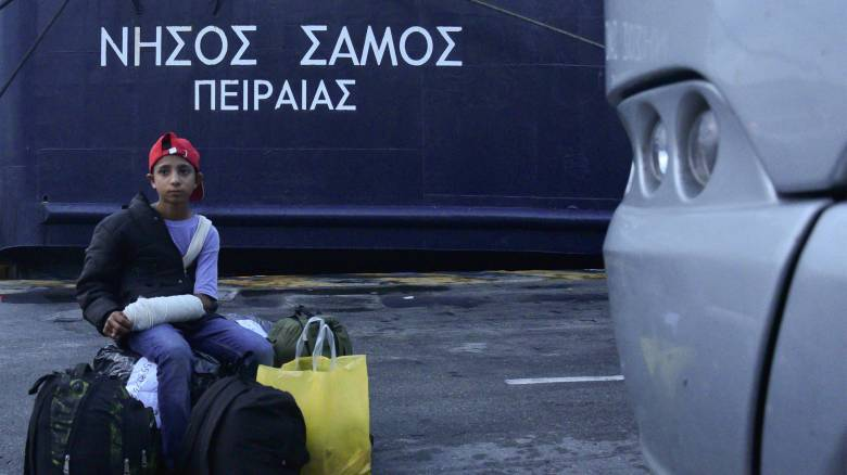 Προσφυγικό: Στο λιμάνι του Πειραιά μεταφέρονται αύριο 700 αιτούντες άσυλο