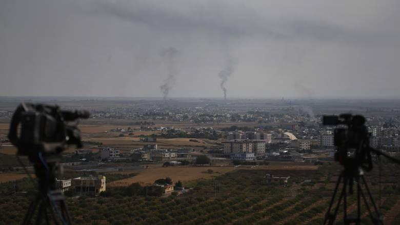 Sana: Οι Αμερικανοί στρατιώτες κατέστρεψαν βάση πριν αποχωρήσουν από τη Συρία