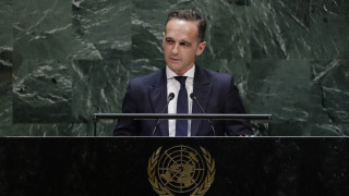 Χάικο Μάας: Η εισβολή της Τουρκίας στη Συρία δεν συνάδει με το διεθνές δίκαιο