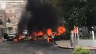 Βραζιλία: Συντριβή αεροσκάφους σε κατοικημένη περιοχή με νεκρούς και τραυματίες (vids)