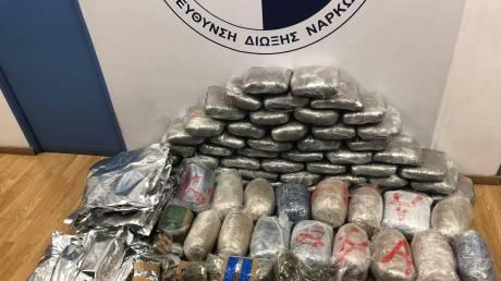 Σύλληψη παλαίμαχου ποδοσφαιριστή για διακίνηση ναρκωτικών - Κατασχέθηκαν 92 κιλά κάνναβης