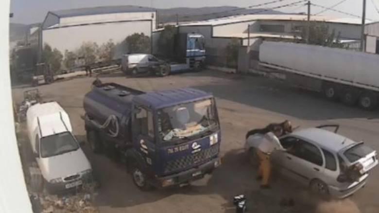 Ασπρόπυργος: Απίστευτες σκηνές σε απόπειρα κλοπής