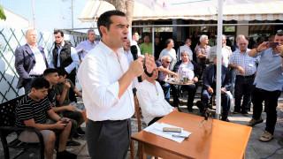 «Πουλημένε, σήκω και φύγε»: Λεκτική επίθεση στον Αλέξη Τσίπρα στα Χανιά