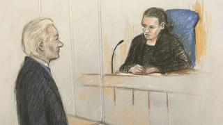 Ανησυχητική η εικόνα του Ασάνζ στο δικαστήριο: Δεν μπορούσε να θυμηθεί το όνομά του