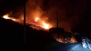 Φωτιά στο Πόρτο Ράφτη - Κοντά σε κατοικημένη περιοχή
