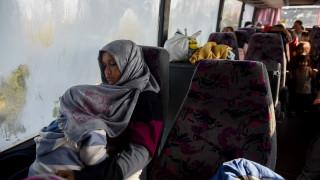 Στη Βόρεια Εύβοια μεταφέρονται οι αιτούντες άσυλο που έδιωξαν κάτοικοι της Θεσσαλονίκης