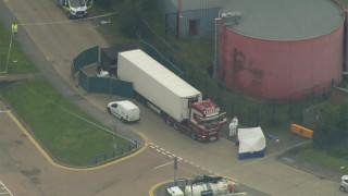 Φρίκη στη Βρετανία: Βρέθηκαν 39 πτώματα μέσα σε φορτηγό στο Έσεξ