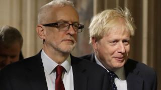 Brexit: Χωρίς αποτέλεσμα η συνάντηση Τζόνσον - Κόρμπιν