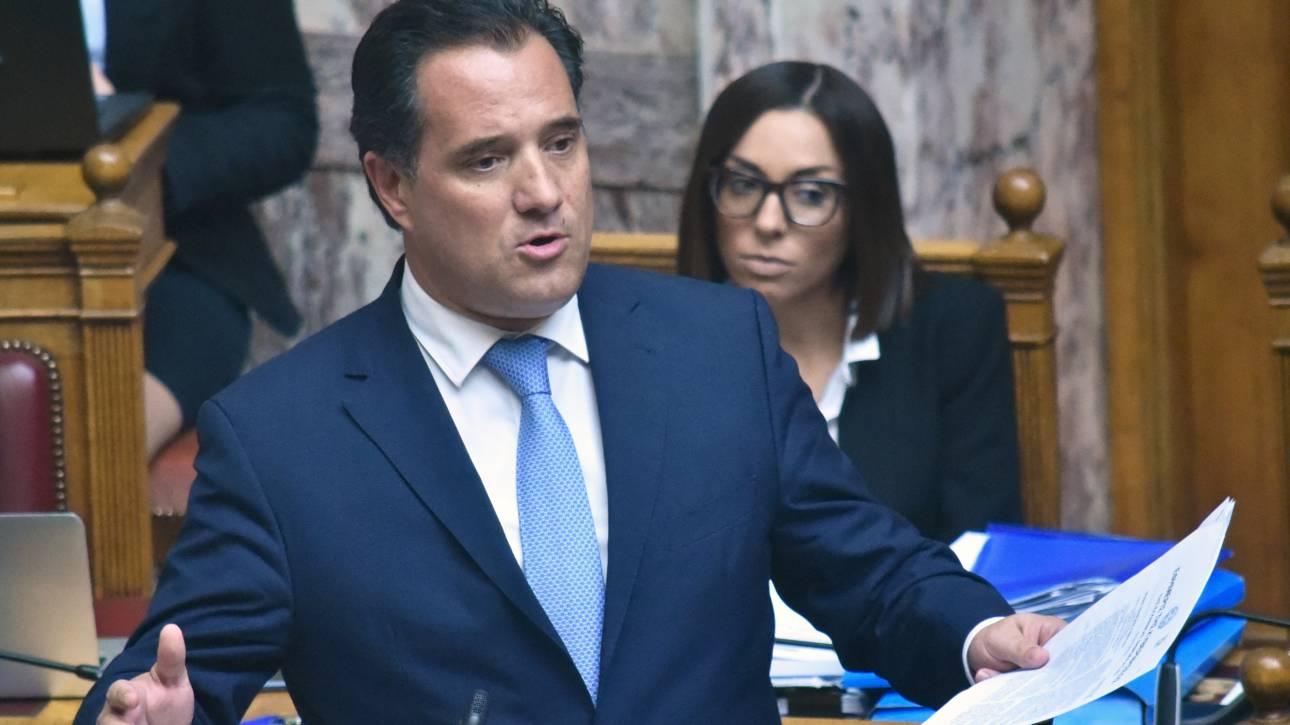 «...θα είχα πάει στον εισαγγελέα»: Απάντηση Γεωργιάδη για τα περί χρηματισμού Τσίπρα - Πολάκη