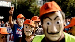 Χάος στο κέντρο της Αθήνας: Συγκεντρώσεις και κλειστοί δρόμοι