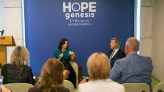 Ανακήρυξη πρέσβη του ανθρωπιστικού έργου της HOPEgenesis