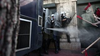 Επεισόδια στο κέντρο της Αθήνας μεταξύ φοιτητών και αστυνομίας