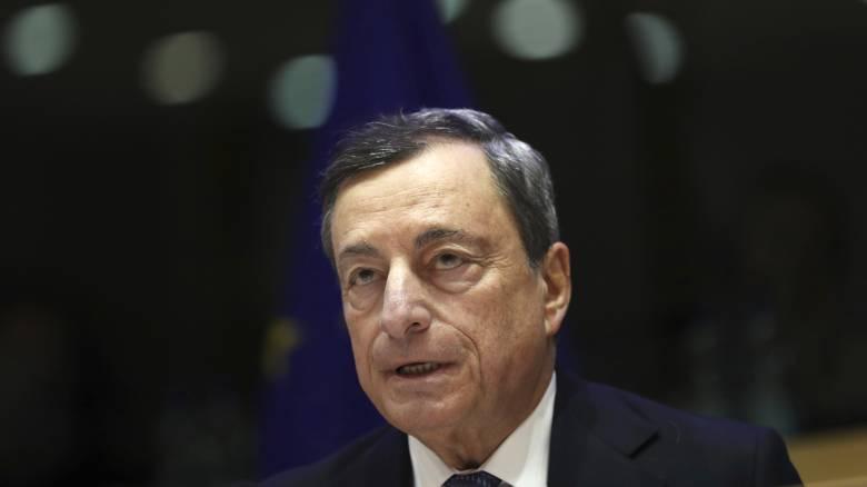 Ντράγκι: Τα αρνητικά επιτόκια δανεισμού μεγάλη επιτυχία για την Ελλάδα