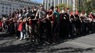 Αποκλεισμένο το κέντρο της Αθήνας: Νέα συλλαλητήρια κατά του αναπτυξιακού νομοσχεδίου