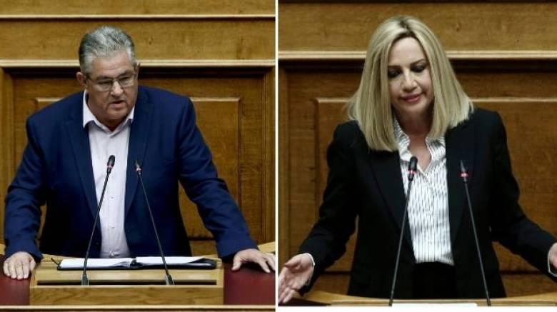 Κάθετα αντίθετα με το αναπτυξιακό νομοσχέδιο τα κόμματα της αντιπολίτευσης