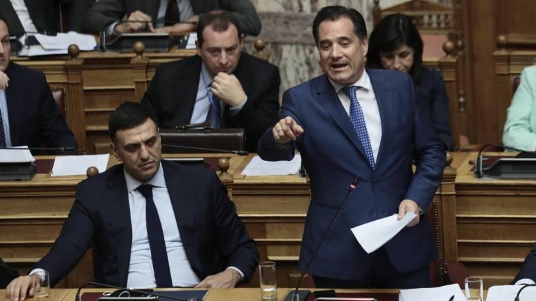 Γεωργιάδης σε Τσίπρα: Σταματήστε αυτό το τροπάρι -Με το νομοσχέδιό σας ανέβηκαν οι τιμές στα φάρμακα