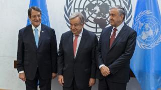 Κυπριακό: Άτυπη τριμερής συνάντηση Γκουτέρες - Αναστασιάδη - Ακιντζί στο Βερολίνο