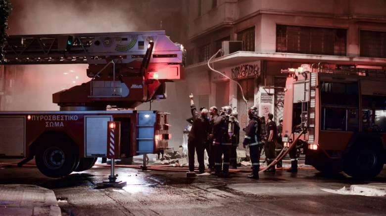 Φωτιά σε νυχτερινό κέντρο στην Αθήνα