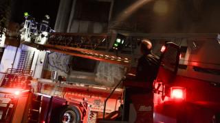 Αναστάτωση από φωτιά σε νυχτερινό κέντρο της Αθήνας