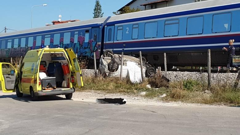 Τρίκαλα: Σύγκρουση τρένου με αυτοκίνητο – Πληροφορίες για έναν νεκρό