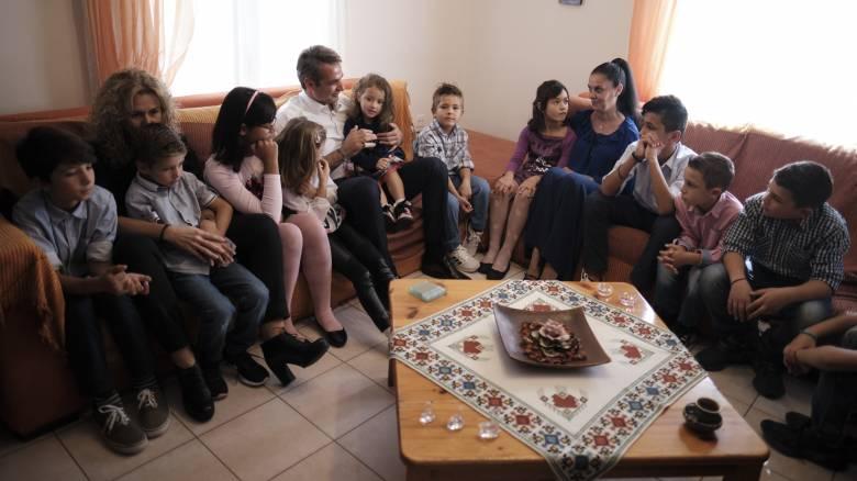 Θεσσαλονίκη: Στο Παιδικό Χωριό SOS Πλαγιαρίου ο Κυριάκος Μητσοτάκης