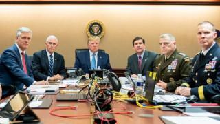 Νεκρός ο ηγέτης του ISIS: Φωτογραφία του Τραμπ στην αίθουσα επιχειρήσεων
