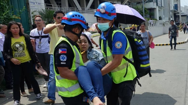 Ισχυρός σεισμός στις Φιλιππίνες: Νεκρός ένας μαθητής, δεκάδες τραυματίες