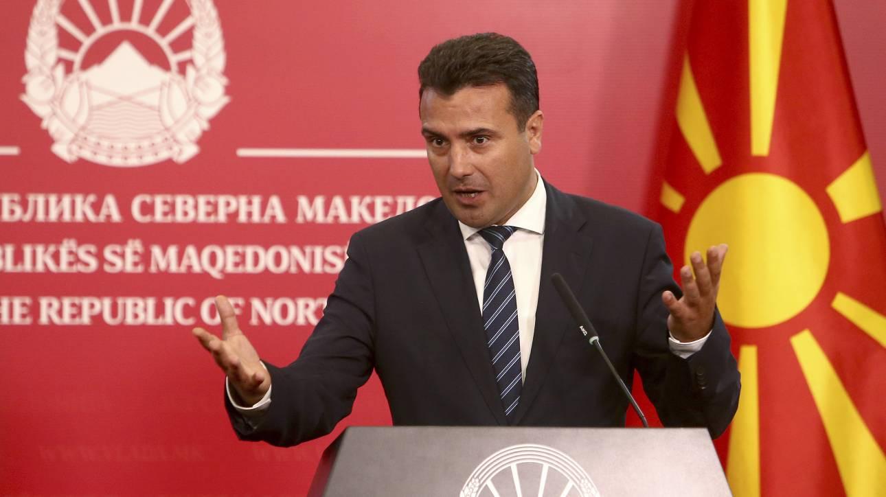Ζάεφ: Το ευρωπαϊκό «μπλόκο» θέτει σε κίνδυνο τη Συμφωνία των Πρεσπών