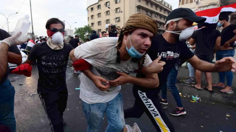 Αιματηρές συγκρούσεις στο Ιράκ: 17 νεκροί, εκατοντάδες τραυματίες
