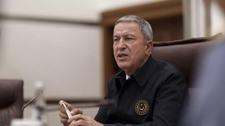 Μήνυμα Ακάρ για την επέτειο ίδρυσης του τουρκικού κράτους με αναφορές σε «γαλάζια πατρίδα» και Κύπρο