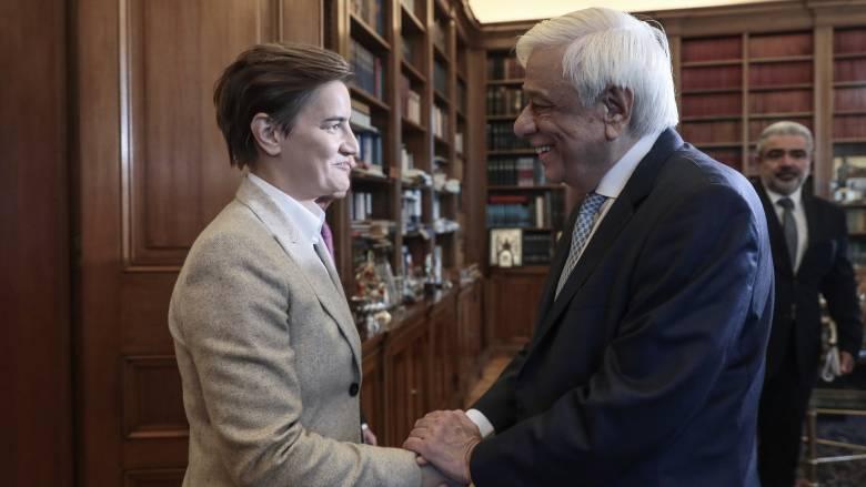 Παυλόπουλος: Η Ελλάδα στηρίζει έμπρακτα την ευρωπαϊκή προοπτική της Σερβίας