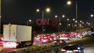 Κυκλοφοριακό χάος στην Αθηνών - Λαμίας: Πού εντοπίζονται τα προβλήματα