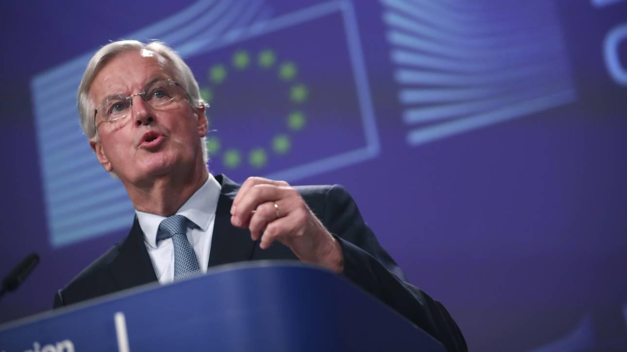 Brexit: Ο Μπαρνιέ ζητά «fair play» για μια ισότιμη εμπορική συμφωνία ΕΕ - Βρετανίας