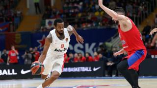ΤΣΣΚΑ Μόσχας-Ολυμπιακός 79-84: «Τσάρος» στη Ρωσία