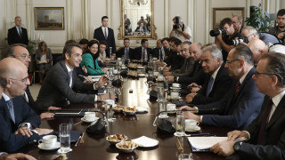 Συνεδριάζει στις 11:00 το Υπουργικό Συμβούλιο υπό τον Κυριάκο Μητσοτάκη