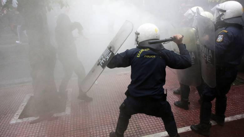 Επεισόδια στο φοιτητικό συλλαλητήριο στην Αθήνα