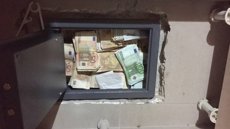 Αποκλειστικό: Λεία άνω των 500.000 ευρώ από κλοπή χρηματοκιβωτίου