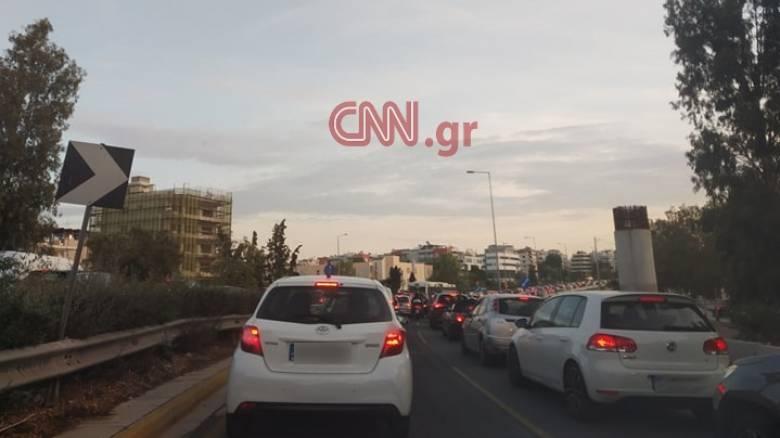 Αυξημένη η κίνηση στους δρόμους της Αθήνας: Ποια σημεία να αποφύγετε