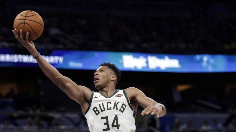 NBA: Double-double o Γιάννης Αντετοκούνμπο και νίκη των Μπακς
