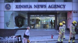 Χονγκ Κονγκ: Βανδαλισμοί στα γραφεία του κινεζικού πρακτορείου ειδήσεων Xinhua